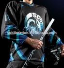 Heat transfer sublimated hockey jerseys