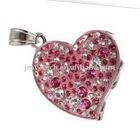 2GB Color Heart Diamond Jewelry USB 2.0 Flash Memory Drive