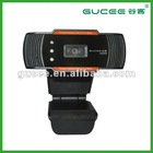 New usb2.0 autofocus free driver double microphone webcam