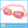 hot sale silicone swim goggles for kids