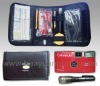 Car accident kit with 35mm film single use camera