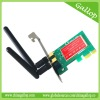 PCI-E Wireless Network adaptor, 300M IEEE 802.11 b, PCIE card