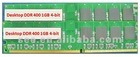 Wholesale DDR 1GB Desktop RAM Memory Memory Module 1GB PC3200 400MHz 184PIN
