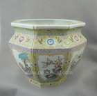 Porcelain flower pot Chinese antiques WRYRB01