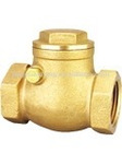 ISO certificate brass check valve for plumbling