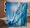 printed polyester shower curtain