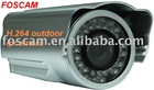 New H.264 waterproof CCD IP camera from FOSCAM Factory