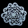 NEW!!! Flower Crystal Applique for Dresses