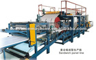 rock wool panel making machine