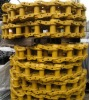 Excavator and bulldozer Track chain link assembly