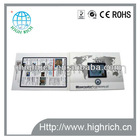 2.4'' LCD video mailer brochure for car advertising