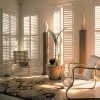 Classic luxury wooden shutter
