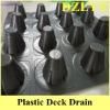 plastic deck drain