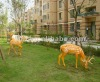 Polyresin deers sculpture- Decorative garden