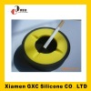 GXC round silicone ashtray