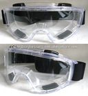 Protective eye goggles with transparent Polycarbonate lens