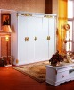 Factory Offer European High Class New Classical MDF Wardrobe Units 3030#