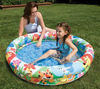Two-Ring Inflatable Pool