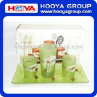 Aromatherapy Set With Glass Candle Cup