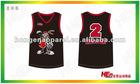 Fashion Sublimated Printing Basketball Shirt
