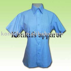 Cotton Shirt with customized logos embroidery