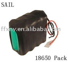 14.8V 4.400mAh 18650 Battery Packs