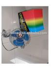 6 plastic oscillating car fan