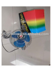 6 plastic oscillating car fan