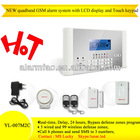 CE and RoHS Approved! ! GSM Wireless cheap burglar house alarm system with English, French Italian instruction