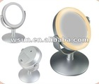 single fashion desk led pocket mirror for lady's