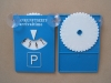 PS Plastic Parking Disc Parking Disk with Cupule