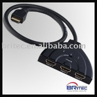 HDMI Switch 3x1 pigtail Type