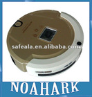 A320 golden color Multifunctional Robot Vacuum Cleaner with LCD and Touch Button and Schedule Clean and Virtual Wall