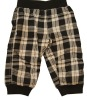 Winter baby pant check cotton
