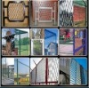 5*10 aluminium heavy duty expanded metal safety fence mesh