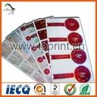 Self -adhesive vinyl sticker printing