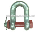 U.S. Type D Shackle with Safety PIN G2150