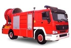 HOWO High Power smoke ejector fire engines