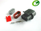 Sumitomo 3 pins black female water proof car connector