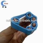 soft silicone finger ring / thumb ring for old people to do finger exercise