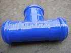 Ductile Iron PVC All Socket Tee
