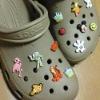 lovely design plastic shoe buckles decoration