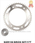 NXR150 Motorcycle Sprocket 50T+17T