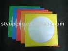 Color Paper CD Sleeves for DVD-R