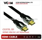 PREMIUM 1.4 BLURAY 3D DVD PS3 HDTV XBOX LCD HD TV 1080P ETHERNET HDMI CABLE