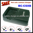 Unique new product digital camera charger BC-CSXB For Sony NP-BX1