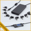 65W universal laptop adapter automatic voltage with LCD display USB port