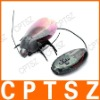 USB Fluorescent R/C Robot Beetle Toy - Transparent Grey
