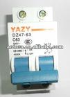 circuit breaker DZ47-63 63A Poles 2 MCB quality guaranteed economical shippment