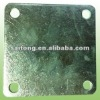 fence plate